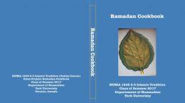 Ramadan Cookbook Cover